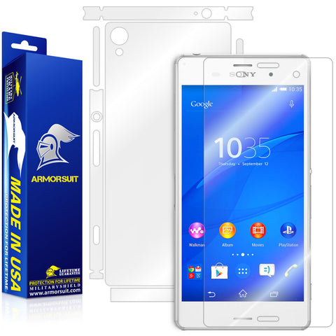 Sony Xperia Z3 Full Body Skin