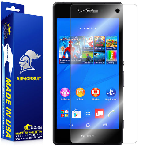 Sony Xperia Z3V Screen Protector