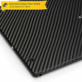 Sony Xperia Z4 Tablet Screen Protector + Black Carbon Fiber Skin