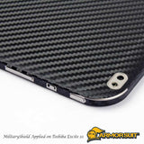 Toshiba Excite 10 Screen Protector + Black Carbon Fiber Film Protector