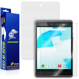 HP Pro Slate 8 Screen Protector + White Carbon Fiber Skin