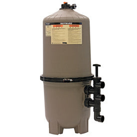 Hayward DE filter 48 SF with backwash valve
