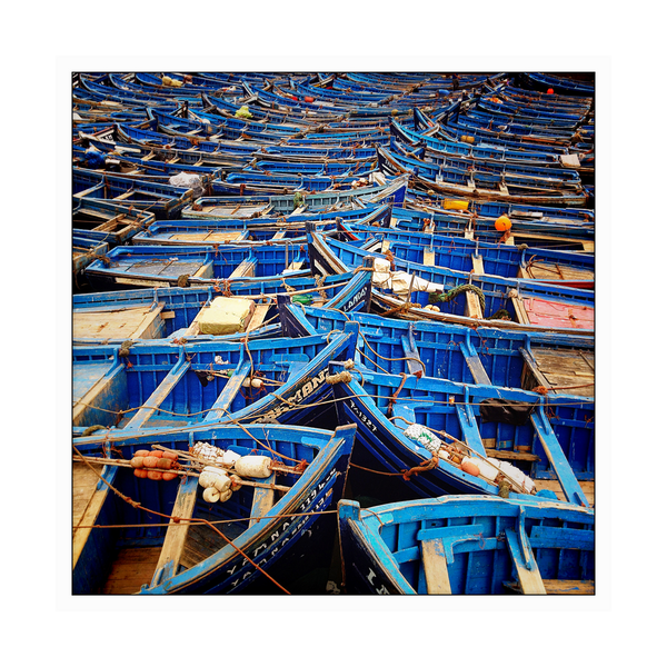 Blue Boats, Morocco