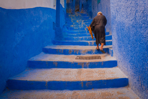 The Blue City No. 2, Morocco