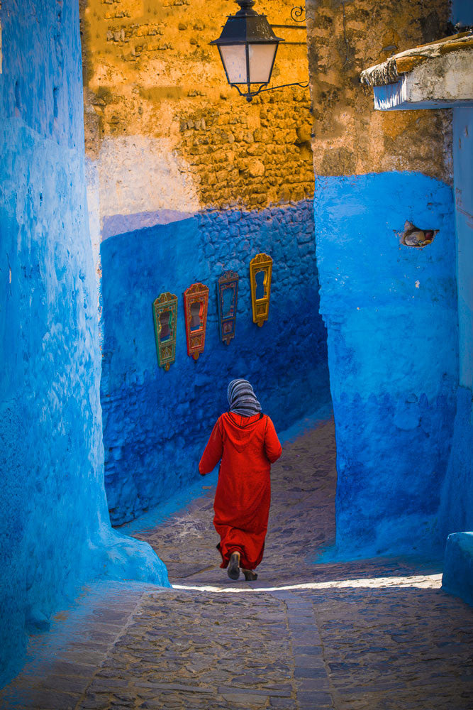The Blue City No. 3, Morocco