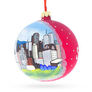 Buy Online Gift Shop I love San Francisco, California Glass Ball Christmas Ornament 4 Inches