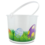 Set of 3 Plastic Egg Hunt Easter Buckets