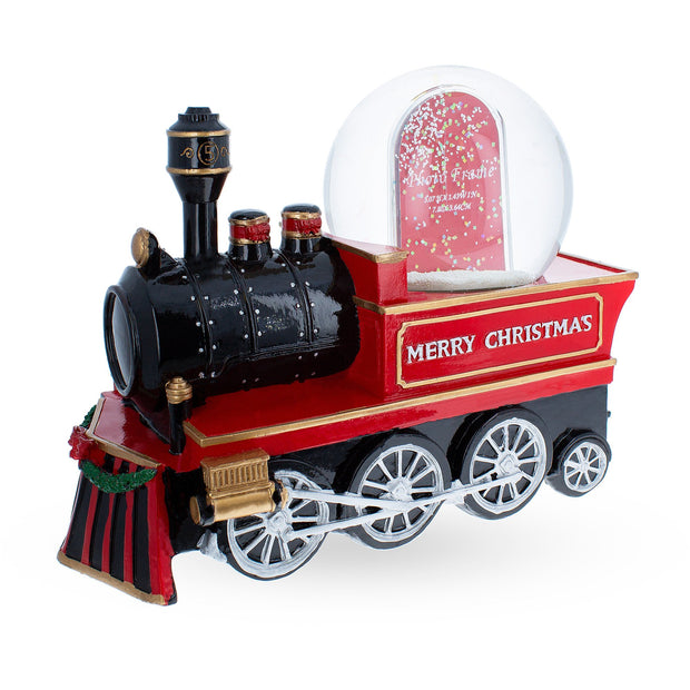 Cho Cho Train Picture Frame Music Snow Globe by BestPysanky
