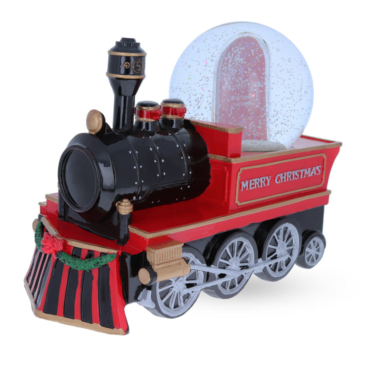 Cho Cho Train Picture Frame Musical Water Snow Globe