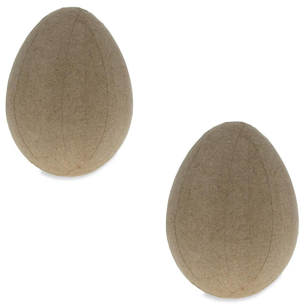 Set of 2 Lightway Paper Mache Egg 4 Inches