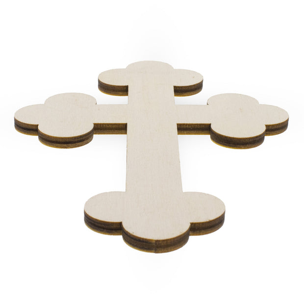 "5.9"" Blank Unfinished Wooden Cross"