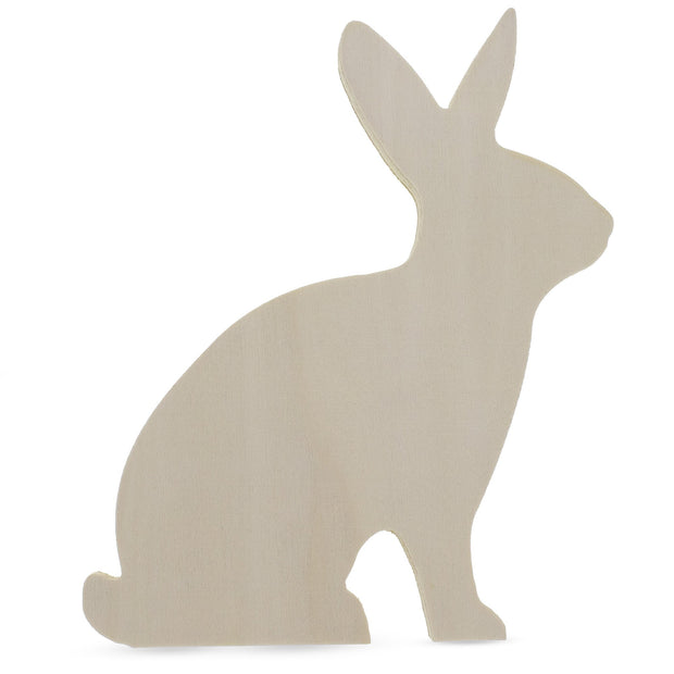 "7.5"" Blank Unfinished Wooden Bunny"