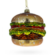 Hamburger Glass Christmas Ornament by BestPysanky