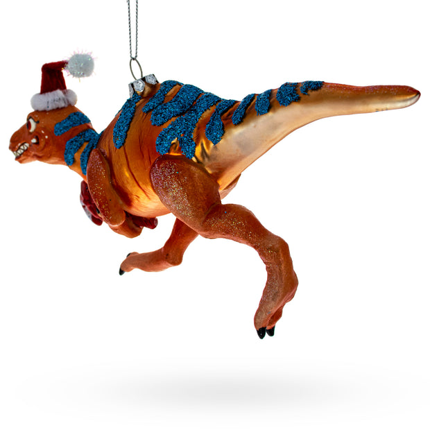 Buy Online Gift Shop T-Rex Dinosaur Glass Christmas Ornament