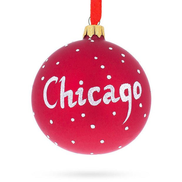 Buy Christmas Ornaments > Cities & Landmarks > North America > USA > Illinois by BestPysanky