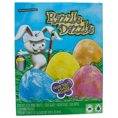 Razzle Dazzle Easter Egg Decorating Kit by BestPysanky