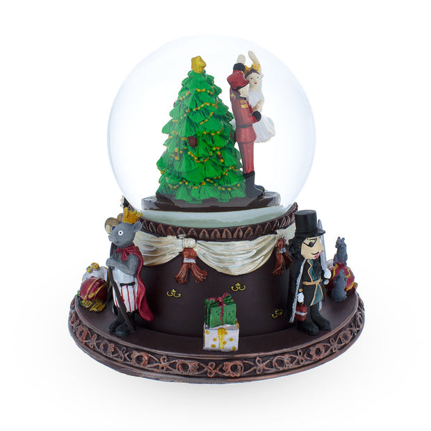 Buy Online Gift Shop Nutcracker Dancing with Clara Spinning Musical Snow Globe