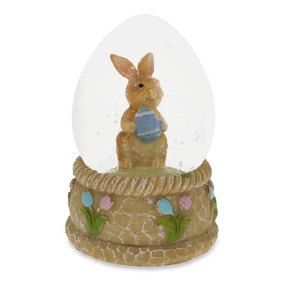Bunny with Easter Egg Water Snow Globe by BestPysanky
