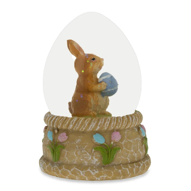 Buy Online Gift Shop Bunny with Easter Egg Water Snow Globe