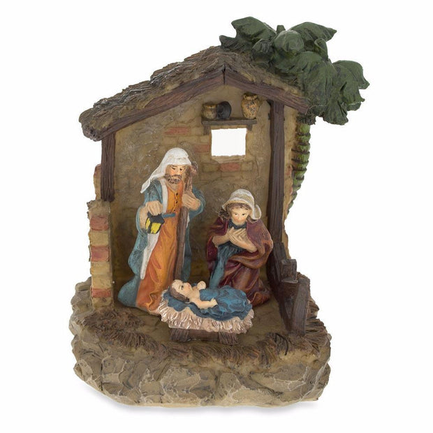 Nativity Scene in the Manger Figurine 6.15 Inches by BestPysanky
