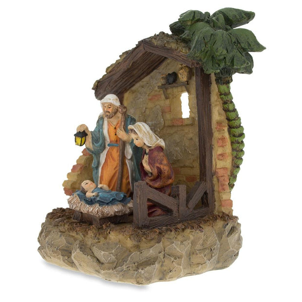 Buy Online Gift Shop Nativity Scene in the Manger Figurine 6.15 Inches