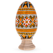 Goose Size Real Blown Out Ukrainian Easter Egg 3.9 Inches by BestPysanky