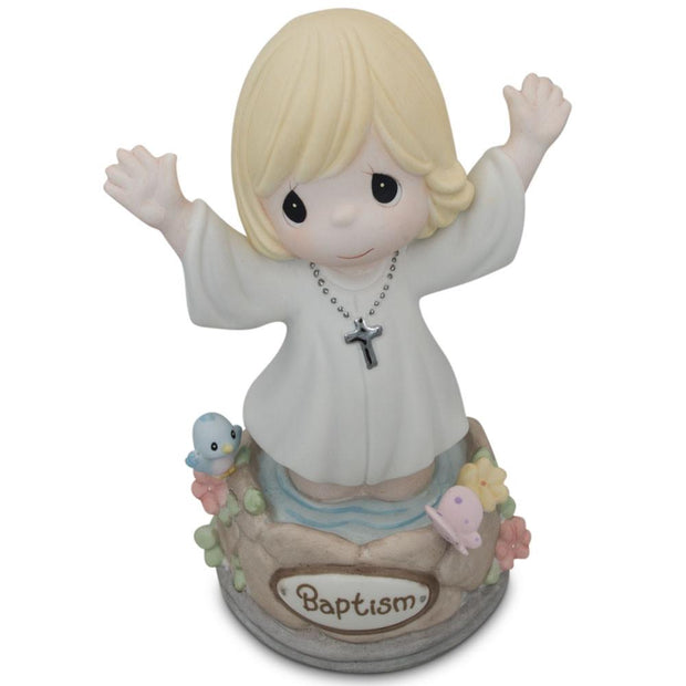 Buy Online Gift Shop Girl Immersed in God's Love Porcelain Communion Figurine 5.5 Inches