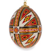 Buy Online Gift Shop Set of Three Real Eggshell Pysanky Ukrainian Easter Egg Christmas Ornaments 2.5 Inches