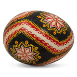 Lanchyn Chicken Size Blown Real Ukrainian Easter Egg Pysanky | BestPysanky