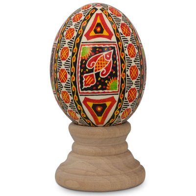 Real Blown out Eggshell Pysanka Ukrainian Easter Egg by BestPysanky