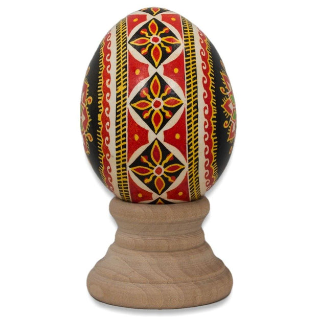 BestPysanky Easter Eggs > Pysanky > Goose - Mykytyntsi Chicken Size Blown Real Ukrainian Easter Egg Pysanky