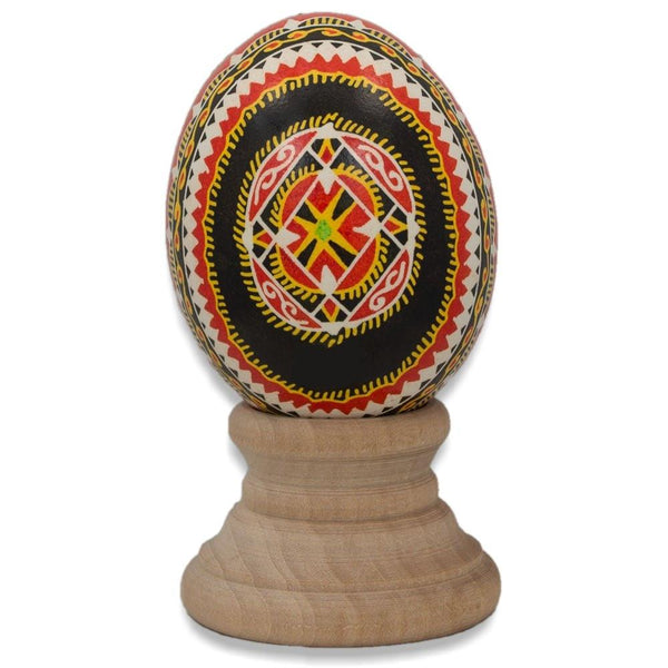 BestPysanky Easter Eggs > Pysanky > Goose - Tychyny Chicken Size Blown Real Ukrainian Easter Egg Pysanky