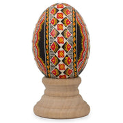 Kelechin Chicken Size Blown Real Ukrainian Easter Egg Pysanky | BestPysanky