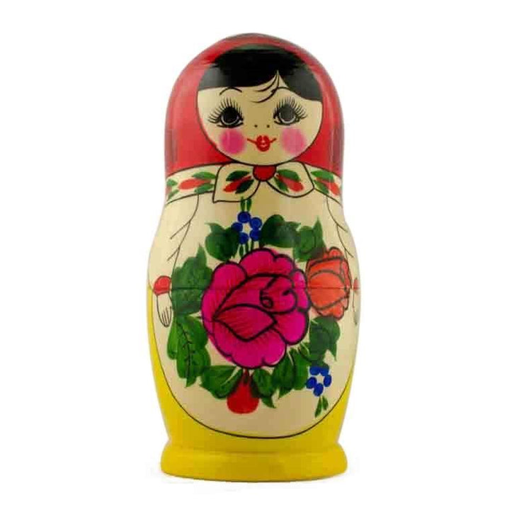 Paint your Own Single Unfinished Wooden Nesting Doll 6.75 Inches