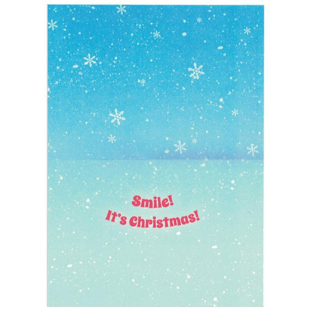 It's Christmas! Smiling Dogs Greeting Card
