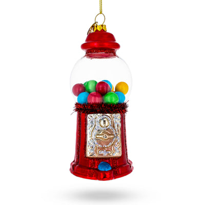 Candy Machine Blown Glass Christmas Ornament by BestPysanky