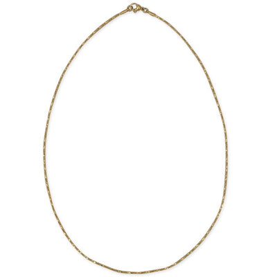 "BestPysanky Jewelry > Chains - 19"" Golden Tone Stainless Steel Boston Chain (1.5mm)"