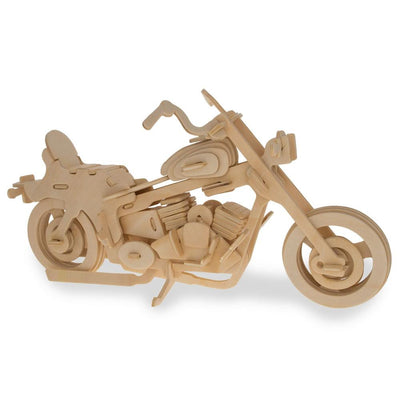 Motorcycle Model Kit Wooden 3D Puzzle by BestPysanky