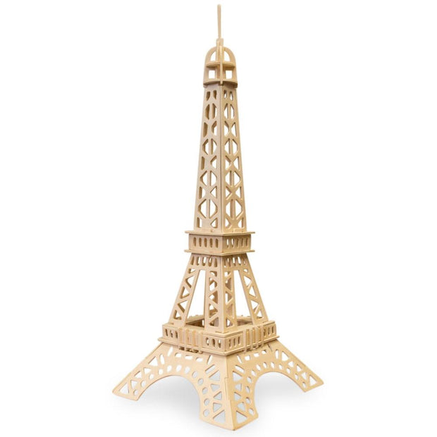 Eiffel Tower Model Kit Wooden 3D Puzzle by BestPysanky