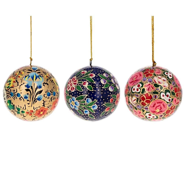 Buy Christmas Ornaments > Flowers > Paper Mache by BestPysanky