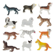 Set of 12 Miniature Resin Dog Figurines 2 Inches by BestPysanky