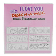 Buy Online Gift Shop Set of 3 DIY LOVE YOU Plastic Mug