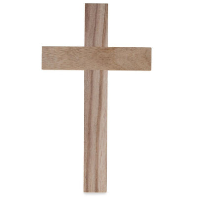 Blank Unfinished Wooden Cross 9.5 Inches by BestPysanky