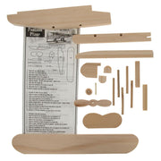 Unfinished Unpainted Wooden Float-plane Pontoon Model Kit DIY Craft 7.25 Inches by BestPysanky