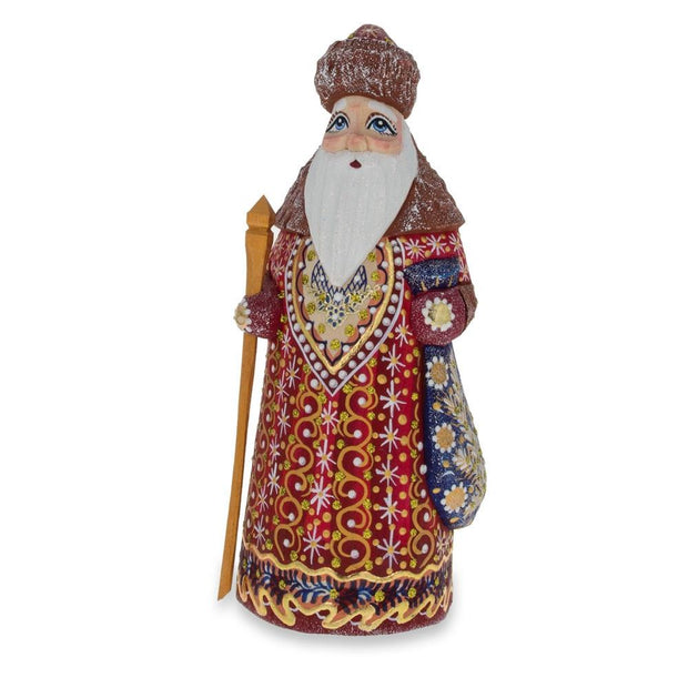 Buy Christmas Decor > Carved Wooden Santa by BestPysanky