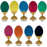 BestPysanky Egg Decorating > Dyes > Traditional Powedered Dyes - Set of 9 Batik Dyes for Ukrainian Pysanky Easter Eggs Decorating