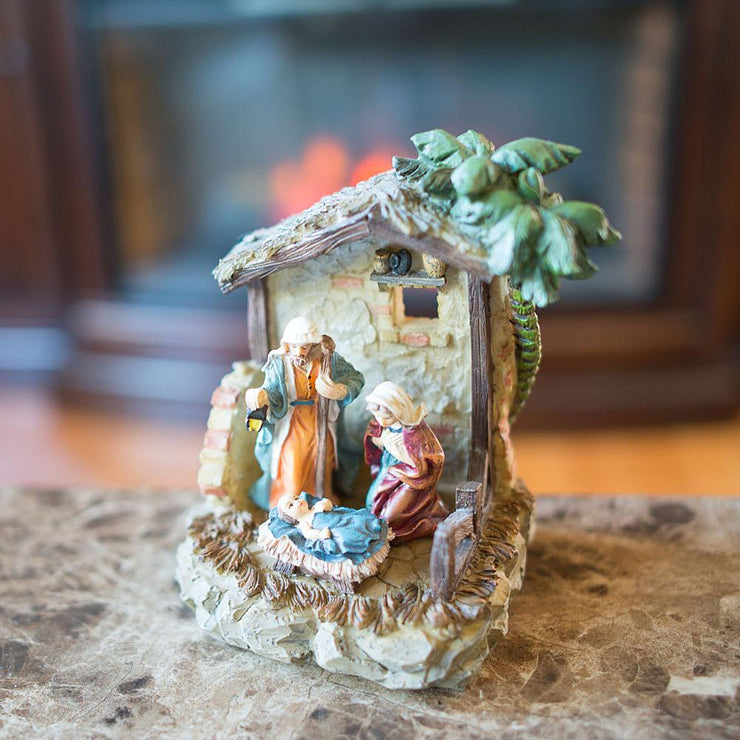 Nativity Scene Figurine 6.15 Inches