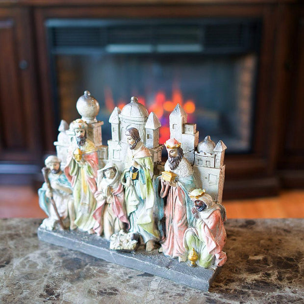 Bethlehem Nativity Scene Figurine 12 Inches
