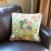 Buy Online Gift Shop Set of 2 Easter Eggs with Bunny, Chicks and Willow Tree Throw Pillow Covers