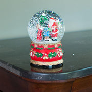 Buy Online Gift Shop Santa Giving Christmas Gifts Musical Snow Water Globe Figurine